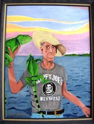 """""""Iguana Man"""" (Key West)"""