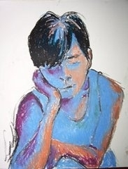 """Tired-Portrait of volunteer, Brandon (Zeraph)"""""""