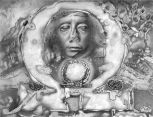 Shen-Ring and Omega. Senusert III. Portrait