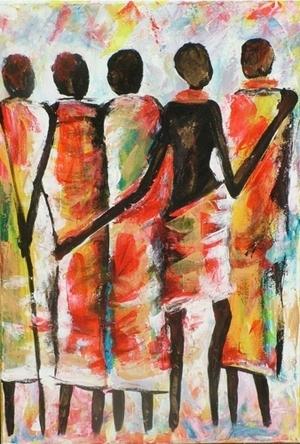 Masai womans