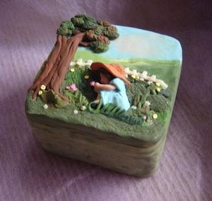 Isabela's Garden Vanity Box