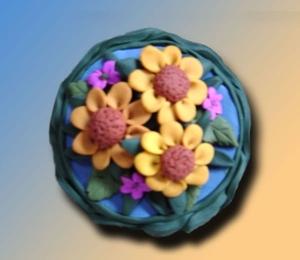 Wild Flowers Vanity Box