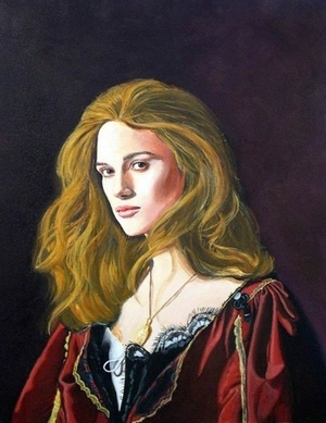 "Elizabeth Swann (Keira Knighley in ""Pirates of the Caribbean"")"