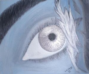 burned eye