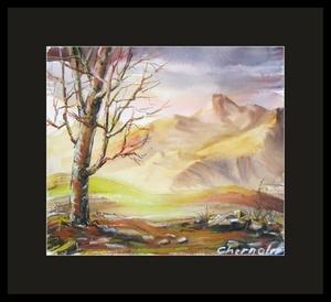 watercolor lands