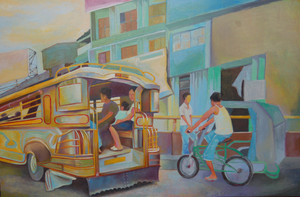 PHILIPPINE SCENE &quot;JEEPNEY&quot;