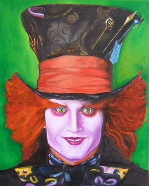 The Mad Hatter Johnny Deep
