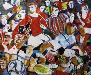Soccer 50 x 42.5 in