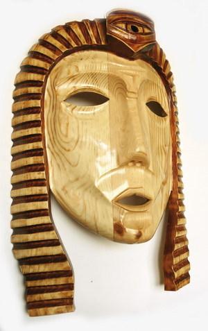 wooden mask EGYPT