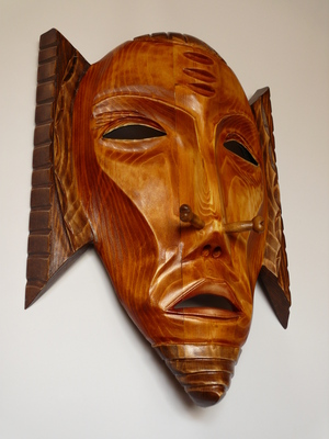 Wooden Mask-Priest
