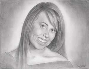 Portrait of my cusin Joanna R.