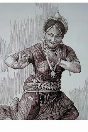 Orissi Dance