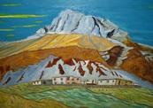 Artist-barun_hazra_title-mountain_kisses_sky_medium-oil_on_canvas_size36x42in-thumb