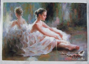 figure oil painting