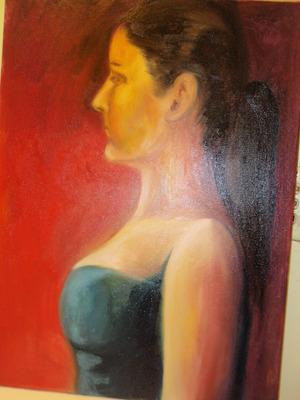 Profile Self-Portrait