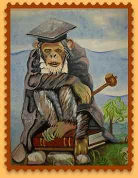 scimmia che giudica