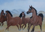 164._4_horses_by_jebel_ad_dukhan.-thumb