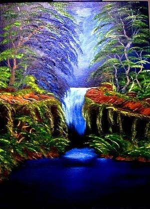 """""""Blue Forrest Falls"""""""