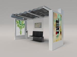 Solar Bus Station