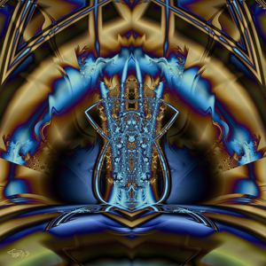 """Crystal Blue Persuasion - 20""""x20 Limited Edition"""