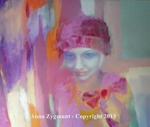 For Anna, oils, 2012, cm. 50 x 60