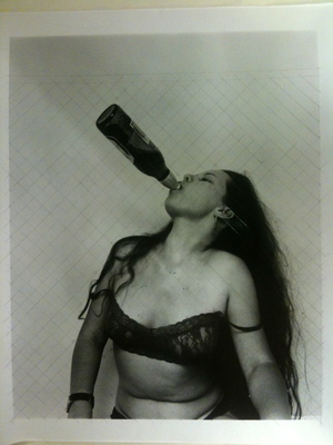 Girl With Bottle 2