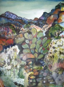 San felipe Landscapes by Ruth Olivar Millan