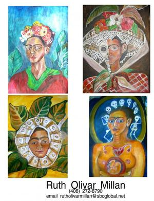 Art Sampler by Ruth Olivar Millan