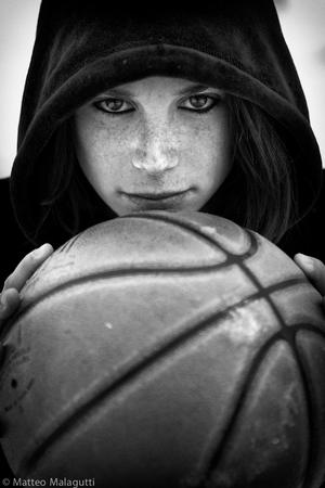 Basketball girl player, Benedetta