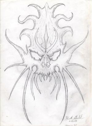 Skull Tribal