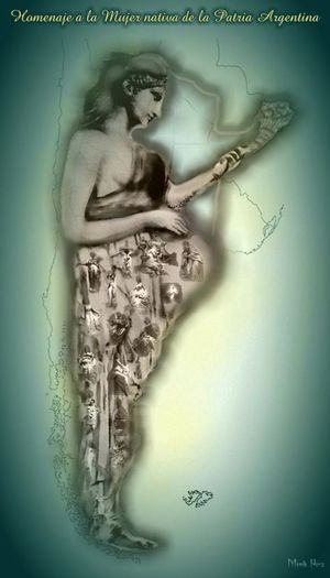 Homenaje a la Mujer Nativa de la Patria Argentina