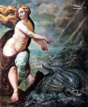 Galatea After Raphael