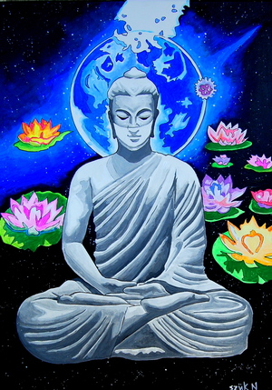 Buddha the helper